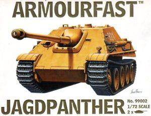 armourfast, 99002 Jadgpanther (x2) ,German Army,  model kit, scale 1:72