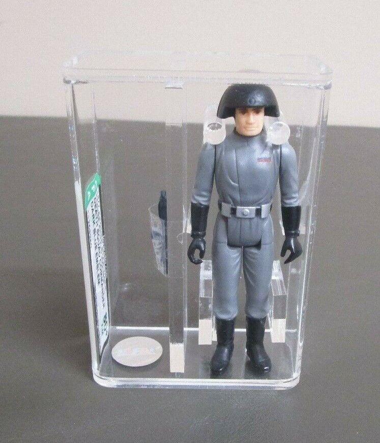 Death Squad Commander Dark Blau 1977 STAR WARS Graded AFA 80+ NM NO Coo JJ