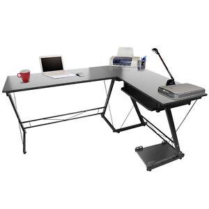 L desk tastiera stazione di computer della casa della for Mobili per computer