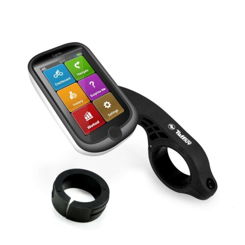Noir Tuff Luv Outfront Support pour Mio Cyclo GPS