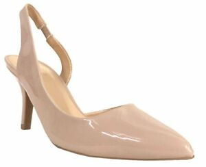 dc0e900adcb Details about PORTIA-30 Qupid Women's Slingback Pointed Toe Low Kitten Heel  Pumps