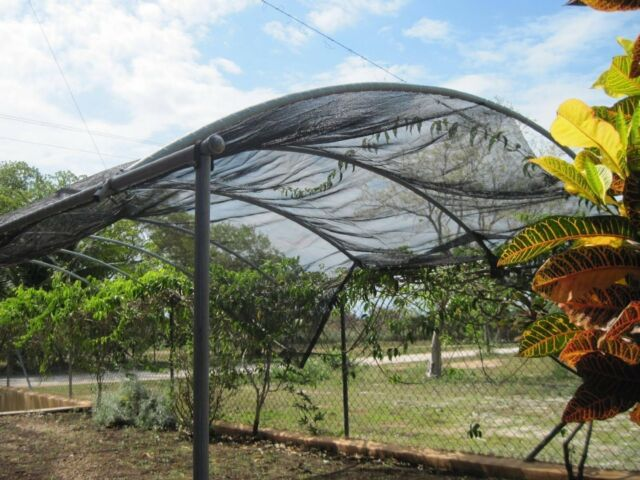 Agfabric 30 Sunblock Shade Cloth For Plant Cover Greenhouse Barn 6ftx12ft