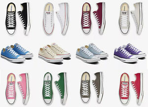 Converse-Chuck-Taylor-All-Star-Canvas-Unisex-Low-Cut-Basketball-Sneakers-NEW