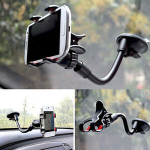 US-Universal-360-Car-AUTO-ACCESSORIES-Rotating-Phone-Windshield-Mount-GPS-Holder