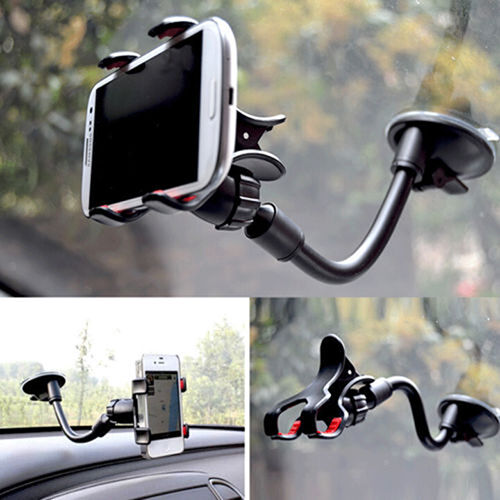 Universal 360°Car AUTO ACCESSORIES Rotating Phone Windshield Mount GPS Holder US