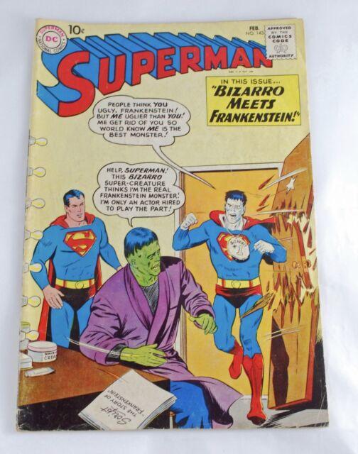 DC Comics – Superman (1st Series) #143  (1961) Silver Age