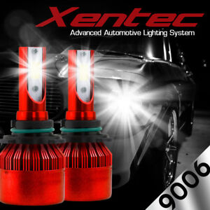 XENTEC LED HID Headlight kit 9006 White for 1999-2006 Chevrolet Silverado 2500