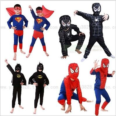 2016 NEW Special offer baby boy clothes set Spider-Man Superman Batman Zorro