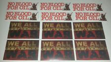 Anti-War Protest Sticker Pack - 12 Sticker Set - Say No to War - Anarchist