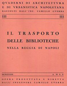1933-Napoli-Quaderni-di-architettura-ed-urbanistica-Biblioteche-Illustrato