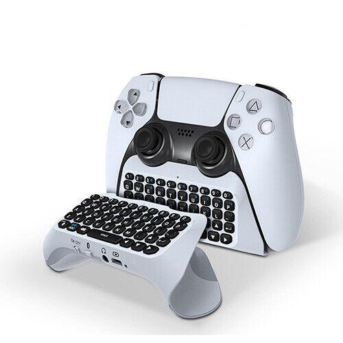PlayStation 5 PS5 DualSense Controller Keypad Keyboard Chat Pad Bluetooth