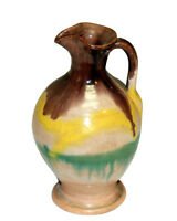 Vintage North Carolina Art Pottery Hand Thrown Rebecca Pitcher Vase AR Cole?