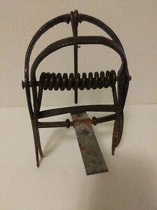 Antique Double Caliper Mole Trap Used