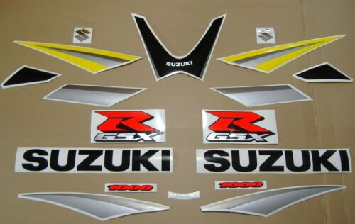 GSX-R 1000 2005 decals stickers graphics kit set k5 adhesives наклейки aufkleber