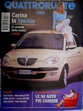 Quattroruote 573 2003 Al volante della nuova Lancia Y. Chevrolet Corvette [Q85]