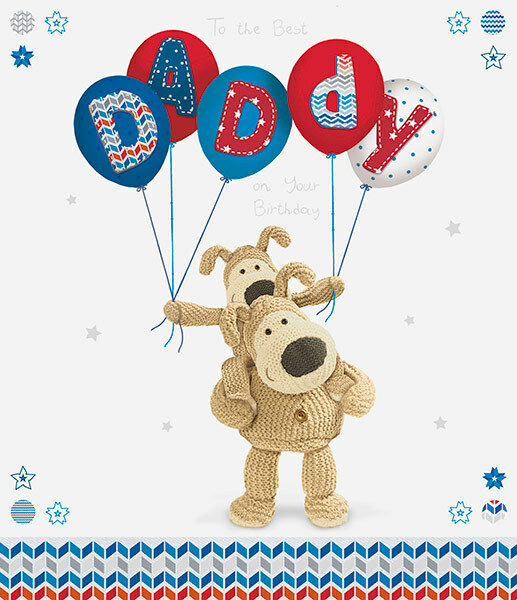 Boofle Daddy Happy Birthday Greeting Card Cute Range Greetings Cards For Sale Online