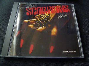 Scorpions-The-Best-Of-Scorpions-Vol-2-RARE-CD-1984-SCHENKER-ULI-JON-ROTH