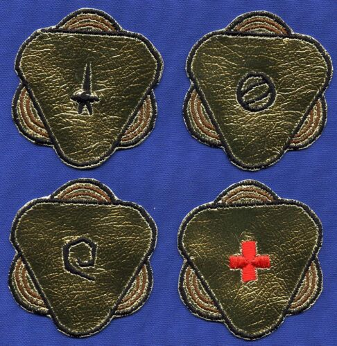 Classic TOS Star Trek USS Potemkin Embroidered Patch Set