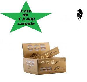 OCB-Slim-Gold-or-oro-lots-de-1-a-400-carnets-de-feuilles-a-rouler-grande-taille