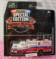 Matchbox Be A Hero E-one Mobile Command Center☆red/wh Fire☆sp Ed Heroic Rescue