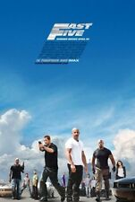 FAST AND THE FURIOUS 5: FAST FIVE -2011- Orig 27x40 REG Movie Poster PAUL WALKER