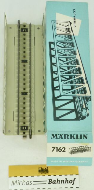 Truss Bridge märklin 7162 M Track Metal Track H0 Original Packaging HL3 Å