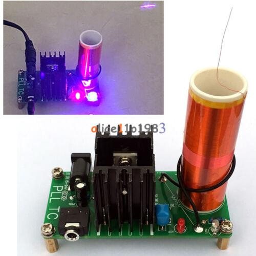 Mini Tesla Coil Plasma Speaker Electronic Music 15W 15V-24V Finished// DIY DC 12V