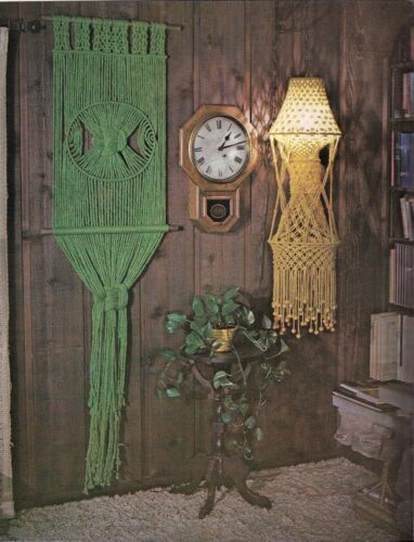 Lamp & Planter Patterns - If You Can Tie A Shoestring You Can Do Macrame Book 2