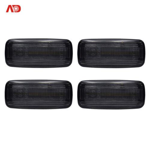 Side Marker Lights Automotive informafutbol.com 4X Smoked LED Side ...