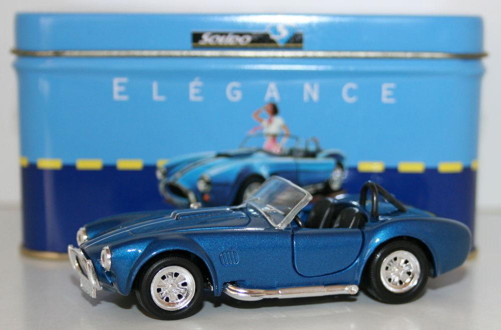 Solido 143 Scale Diecast modelloAC Cobra 1965blu