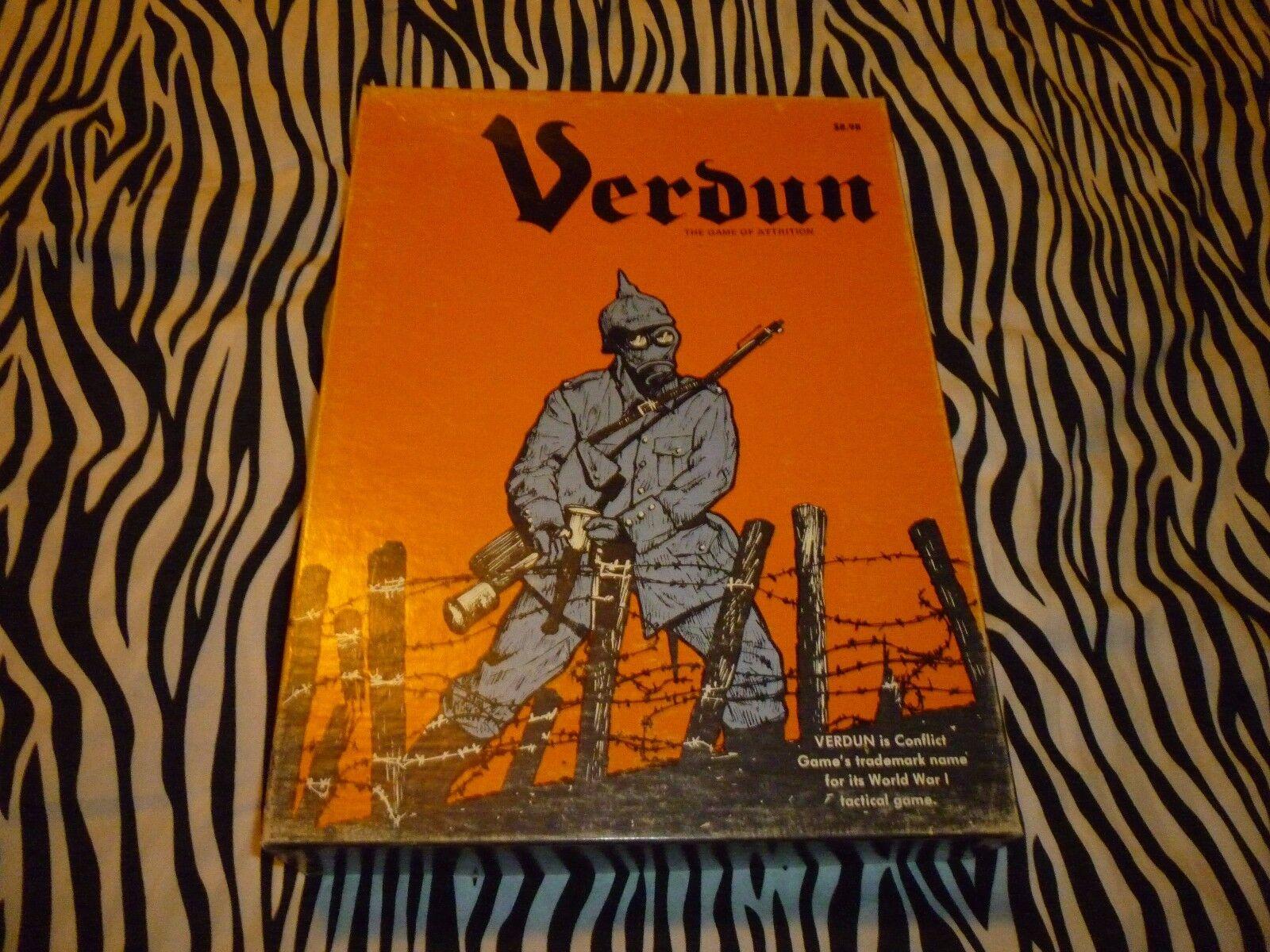 Verdun Vintage War Board Game