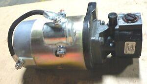 Haldex Gear Pump G1108e1a120n00 On Motor 2201094 12v Ebay