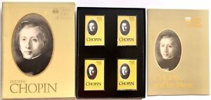 Time Life Records Great Men Of Music Cassettes Frederic Chopin Case Book