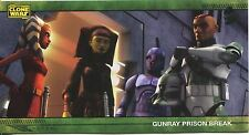 Star Wars Clone Wars Widevision Silver Stamped Parallel Base Card [500] #31