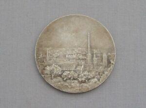 Français Argenté Bronze Art Médaille Médaillon Rouen Cathédrale P. Anquetil C.1900-afficher Le Titre D'origine Gagner Une Grande Admiration