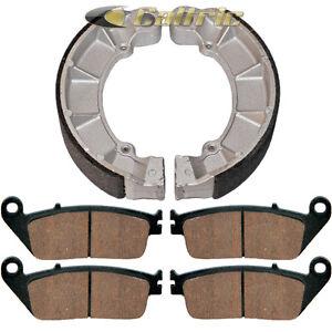FRONT BRAKE PADS /& REAR BRAKE SHOES Fits Honda VF750C VF750C2 MAGNA 750 97-03