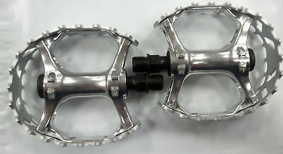 """VP XC II Beartrap Type Pedals 1//2 /"""" ALLOY SILVER 1//2"""