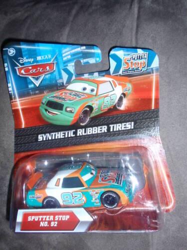 Disney Pixar Cars SPUTTER STOP Kmart 4 with rubber tires No.92