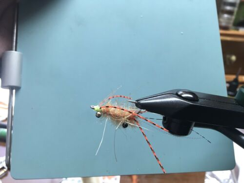 saltwater flies Ascension Bay EP Sand  Mantis Shrimp BC Size 6 Bonefish,permit