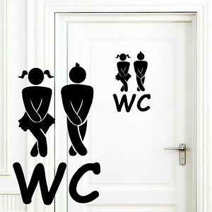 12226-wandtattoo-loft-Adhesivo-de-Puerta-WC-chica-joven-bano-badtur