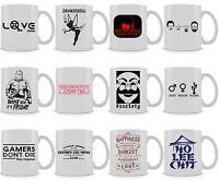 Stranger Things | Harry Potter | Breaking Bad Inspired Mug | Funny | Gamer | Cup