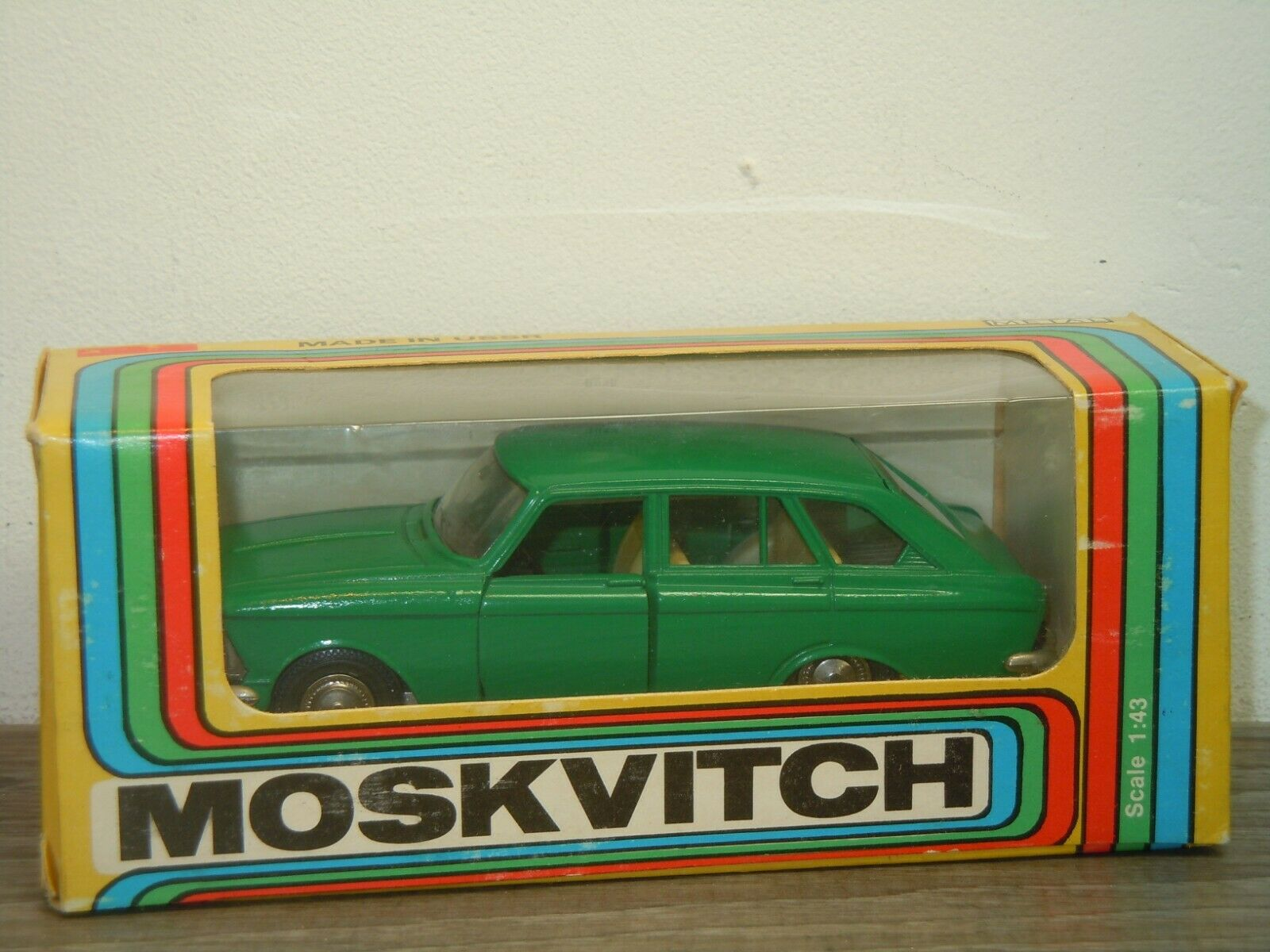 saludable Moskvitch 1500 Combi - A12 CCCP made made made in USSR 1 43 in Box 39007  muchas concesiones