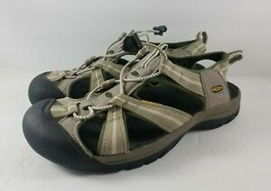 Keen-Venice-H2-Mens-Size-12-Waterproof-Sports-Sandals-Hiking-Walking-Green