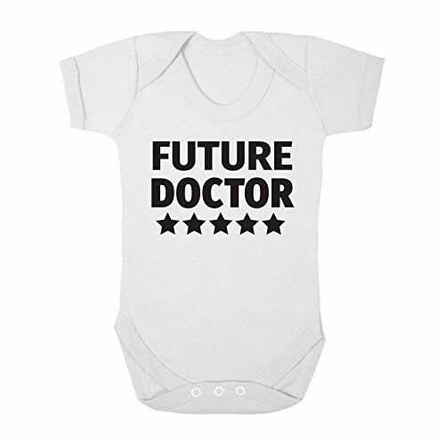 Future Doctor Cute Boys and Girls Baby Vest Bodysuit