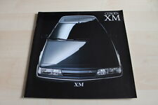121515) Citroen XM - Übergröße - Prospekt 09/1990