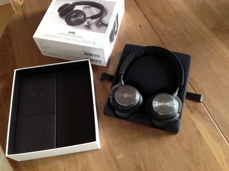 trådløse hovedtelefoner, B&O, H9i
