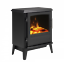 thumbnail 1 - DIMPLEX Bari Optiflame Electric Stove 2KW BAR20 REMOTE LOG EFFECT FIRE HEATER