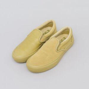 6e2ec4c2cc Vans Vault x Engineered Garments Classic Slip-On in Khaki VERY RARE ...