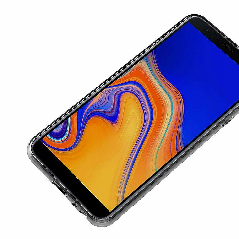 14929a67162 Funda silicona gel para Samsung Galaxy J6 transparente flexible carcasa    Compra online en eBay