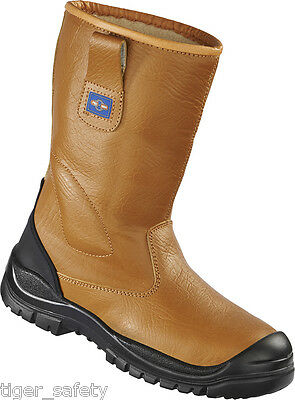 Click Safety Rigger Boot Unlined With Steel Toecap and Midsole Size 8
